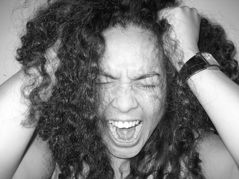 Natural Hair Frustration