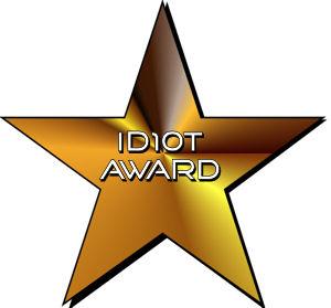 idiotaward