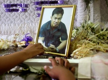 Philippines Gunman Photographed